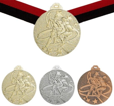 Rugby Medaille, 50mm inkl. Band, zzgl. Beschriftung