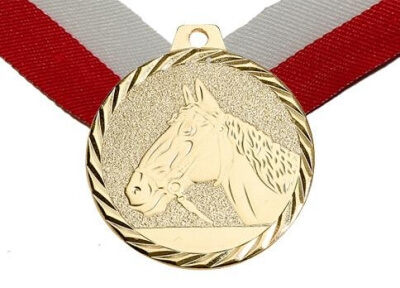 50 mm Reitsport Medaille
